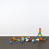 Fototapety Building blocks