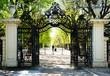 Garden Walkway at Schonbrunn Palace in Vienna, Austria
