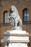 The Florentine lion poster