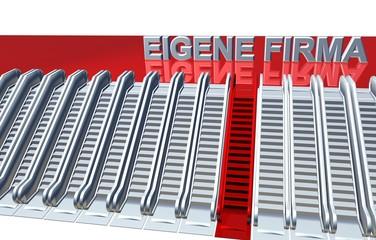 3D Rolltreppen - EIGENE FIRMA