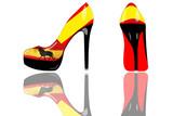 Flamenco - Chaussure Talon Aiguille poster