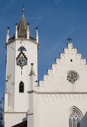 church in Teplice, Czech republic