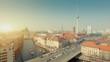 Berlin Skyline City HD 1080p Timelapse