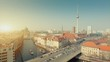 Berlin Skyline City HD 1080p Timelapse