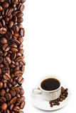 Fototapeta cartel de café