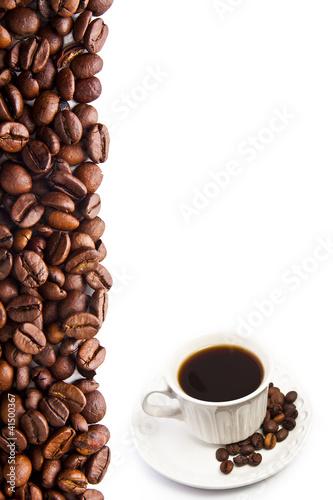 cartel de café