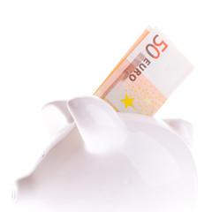 Saving fifty euro