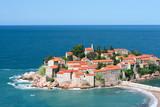 Sveti Stefan resort island in Montenegro