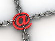 Secure E-mail sign chaind by chrome chains