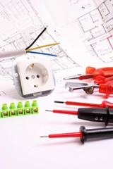 Werkzeug für Elektriker