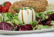 Schafsmilchkäse mit Salat