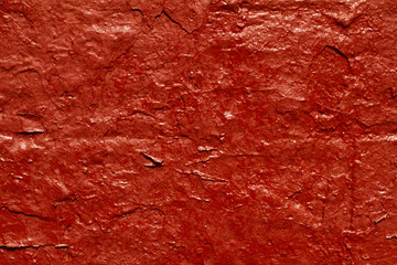Piece of bright red wall useful for background