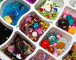decorative objects to make bracelets and necklaces