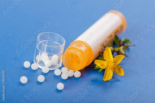 Homeopathic pills and Hypericum