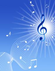 青空と音楽