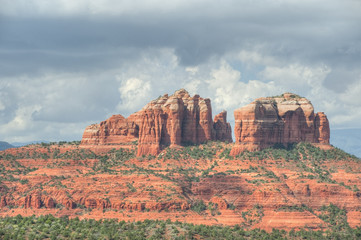 Cathedral Rocks of Sedona