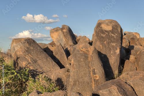 Petroglyphs at Saguaro National Park