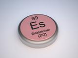 Einsteinium capsule