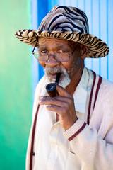 Smoking grandpa