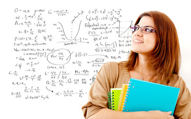 Maths female student