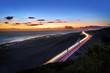 Trafic de nuit sur la route des Tamarins - Réunion
