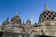 Borobudur Temple. Yogyakarta, Java, Indonesia.