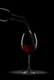 calice di vino silouette