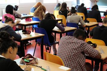 salle d'examen, concours