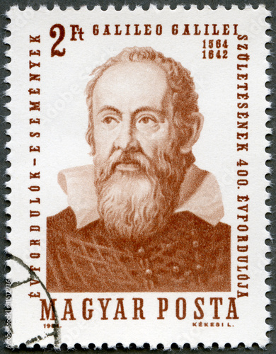 HUNGARY - 1964: shows Galileo Galilei (1564-1642)