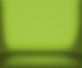 Green Empty Room