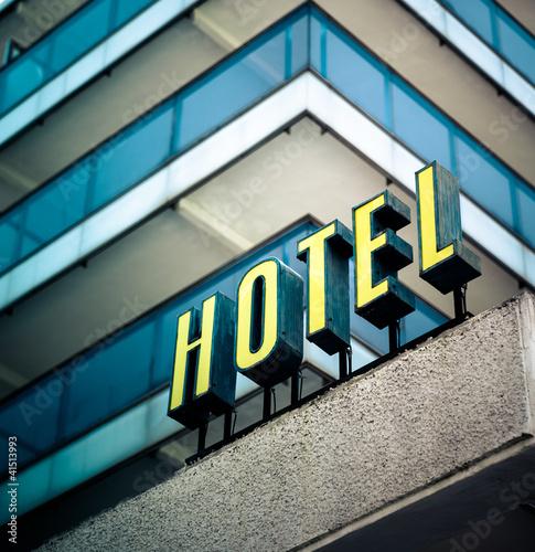 Hotel sign b