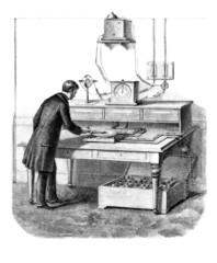 Technician at Work - 19th century