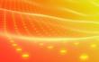 Abstract Background orange. Copyspace. Media hi-tech style.