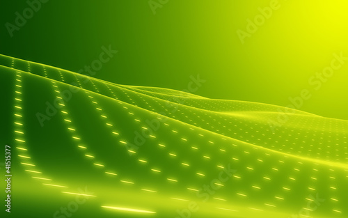 Abstract Background green. Copyspace. Media hi-tech style.