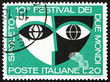 Postage stamp Italy 1967 shows Stylized Mask