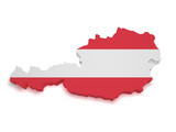 Austria Map 3d Shape