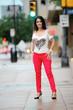 Downtown Dallas fashion style