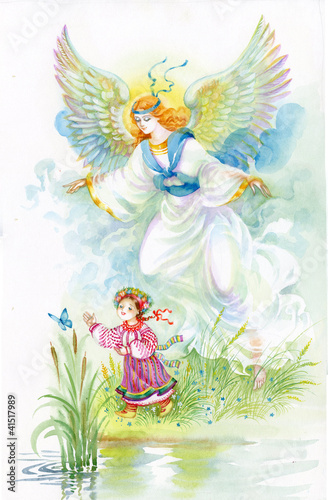 Watercolor Angel