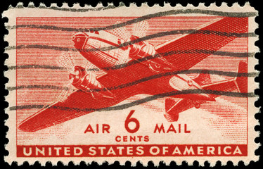 USA - CIRCA 1943 Transport Plane