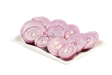 Сhopped red onion