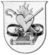 Coat of Arms of a monastic order Augustinians