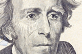 Andrew jackson Macro Close Up US Twenty Dollar Bill