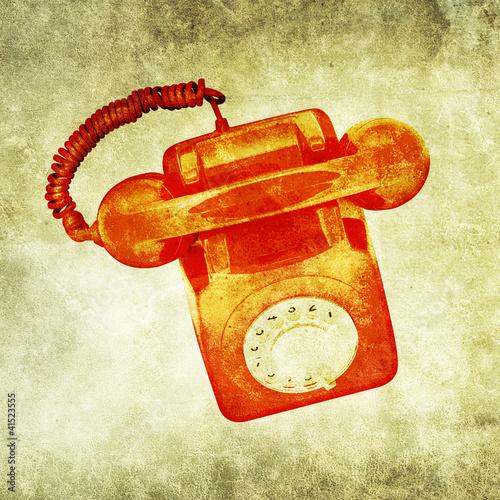 grunge phone print