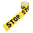 "Yellow plastic tape ""STOP"""