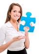 femme avec puzzle 3