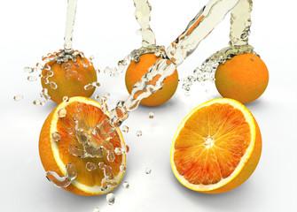 Naranja Y Agua