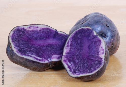 blue potatoes von ckellyphoto lizenzfreies foto 41524342 auf. Black Bedroom Furniture Sets. Home Design Ideas