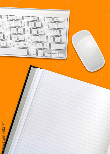 orange desktop