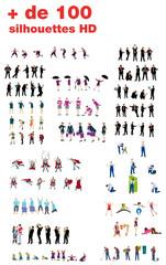 + de 100 silhouettes HD