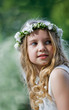 First Communion - portrait
